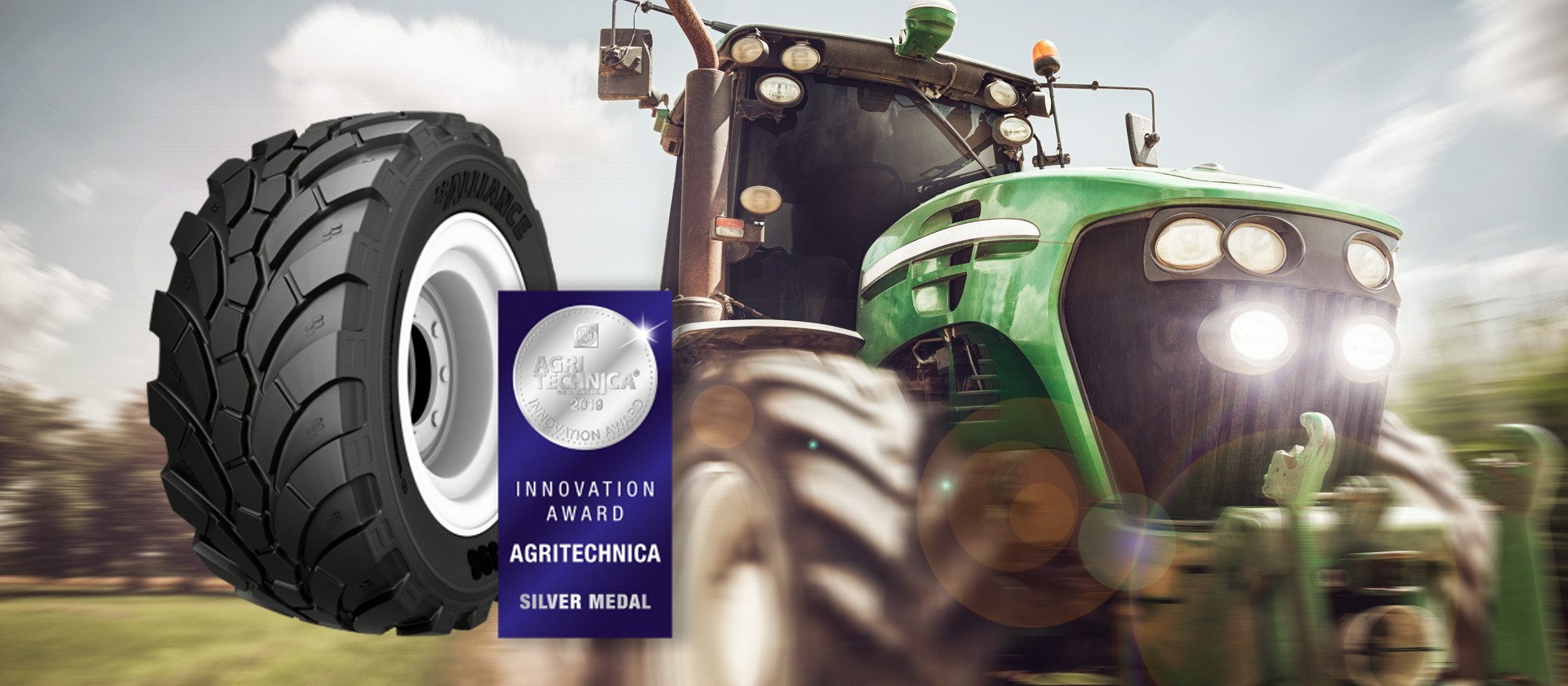 Alliance 398 MPT wint zilver op Agritechnica
